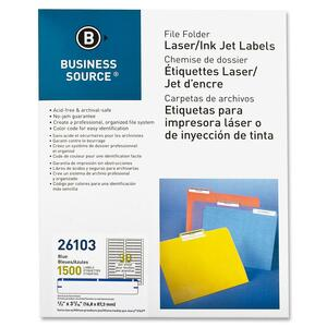 Business Source File Folder Label BSN26103