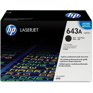 HP 643A Black Original LaserJet Toner Cartridge for US Government HEWQ5950AG