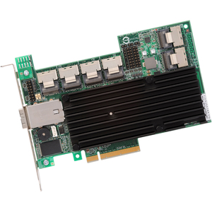 LSI MegaRAID SAS 9280-24I4E 24-PORT SAS/SATA 6GB/S PCIe 2.0 512MB RAID Controller Card Single