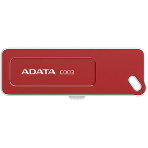 Adata C003 16 GB USB 2.0 Flash Drive - Red AC003-16G-RRD