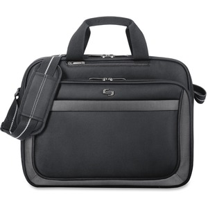 "Solo Sterling Carrying Case (Briefcase) for 15.6"" Notebook - Black USLCLA1034"