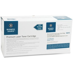 Business Source Remanufactured Canon Replacement Cartridges FX-2 Toner Cartridge BSN38692