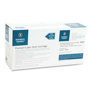 Business Source Remanufactured Brother Replacement Cartridges TN580 Toner Cartridge BSN38670