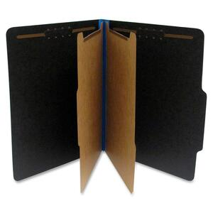 Blue. Black. Classification Folder