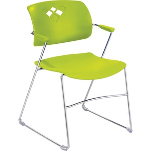 Safco Veer Flex Back Stack Chair with Arm SAF4286GS