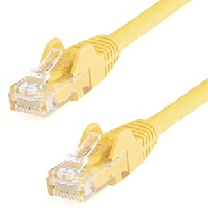 STARTECH 75FT CAT6 YELLOW PVC SNAGLESS RJ45 TO RJ45 24AWG UTP PATCH CABLE