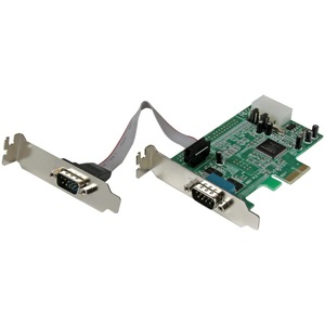 STARTECH 2PORT LOW PROFILE PCIE SERIAL CARD SERIAL RS232 CARD
