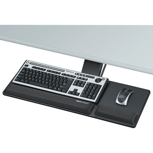 Fellowes Designer Suites Compact Keyboard Tray - TAA Compliant FEL8017801
