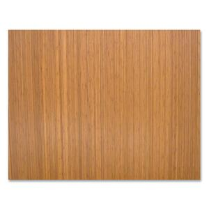 Lorell Roll-Up Bamboo Chairmat LLR69526