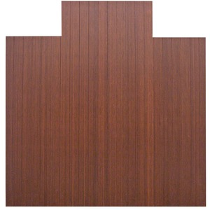 Lorell Roll-Up Bamboo Chairmat LLR69521