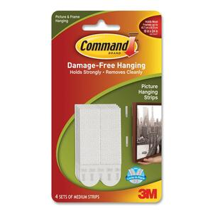 Command Medium Adhesive Picture Hanging Strips MMM172014PK