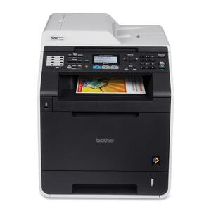 Brother MFC-9460CDN Laser Multifunction Printer - Color - Plain Paper Print - Desktop BRTMFC9460CDN