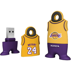 Adata NBA Los Angeles Lakers - Kobe Bryant 4 GB USB 2.0 Flash Drive ATNBA-4G-LKB