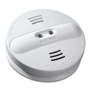 Kidde PI9000 Fire Dual-sensor Smoke Alarm - 85 dB - Audible/Visual - White