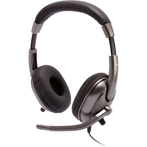 CYBER ACOUSTICS STEREO HEADSET F/KIDS ON EAR W/ ADJUSTABLE MIC 3.5MM VOL CTRL MOQ24