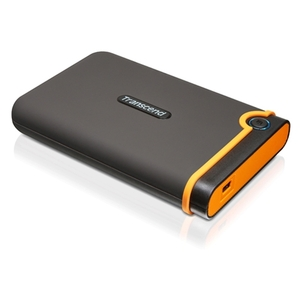 Transcend StoreJet 25M2 320 GB 2.5&quot; External Hard Drive - USB 2.0 - SATA - 5400 rpm - 8 MB Buffer