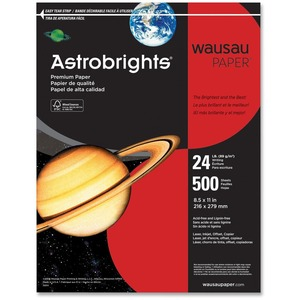 Wausau Paper Astrobrights 22511 Colored Paper WAU22511