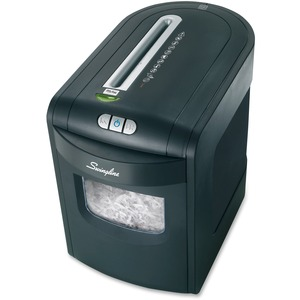 Swingline ShredMaster GEM76 Shredder - Micro Cut - 7 Per Pass - 6 Gallon Wastebasket