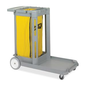 Genuine Joe Compact Cleaning Cart GJO58556