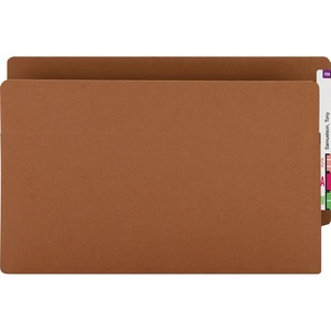73611 Redrope 100% Recycled End Tab Extra Wide Pocket