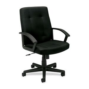 Basyx by HON VL602 Mid Back Loop Arm Management Chair BSXVL602VA10