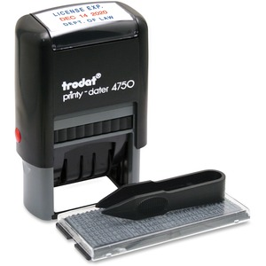 "U.S. Stamp & Sign Do-It-Yourself Self-inking Stamp - 1"" x 1.62"" - Gray"