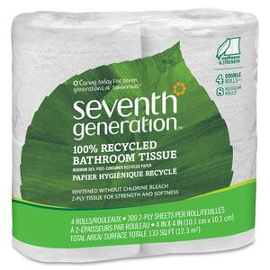 Seventh Generation 100% Recycled Bathroom Tissue SEV13732