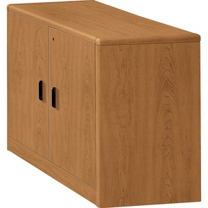 "HON 107291 Storage Cabinet with Doors - 36"" Width x 20"" Depth x 29.5"" Height - Harvest"