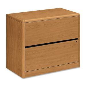 "HON 10762 Lateral File - 36"" Width x 20"" Depth x 29.5"" Height - 2 Drawer - Harvest"