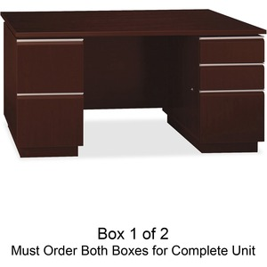 bbf Milano 2 Series Pedestal Desk Box 1 of 2 BSH50DDP60A1CS