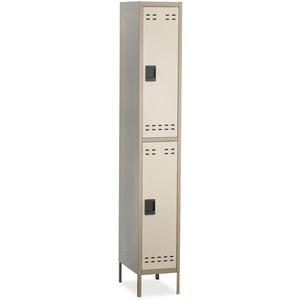 Double-Tier Two-tone Locker with legs