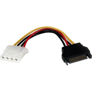 STARTECH 6IN SATA TO LP4 POWER CABLE ADAPTER FOR IDE HARD DRIVE