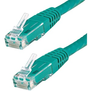 STARTECH 50FT GREEN MOLDED CATEGORY 6 PATCH CABLE - ETL VERIFIED