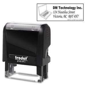 Climate Neutral 4913 Self-inking Stamp
