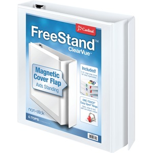 Cardinal FreeStand EasyOpen Locking Slant-D Ring Binder CRD43110