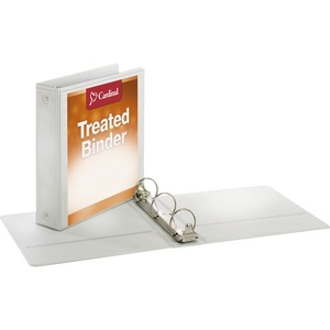 Cardinal Antimicrobial ClearVue Locking Round Ring Binder CRD32220