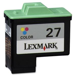 Lexmark 27 Tri-color Ink Cartridge LEX10N0227