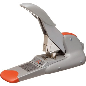 Rapid Duax Heavy Duty Stapler - Heavy Duty Stapler - 170 Sheets Capacity - 400 Staple Capacity - Silver, Orange