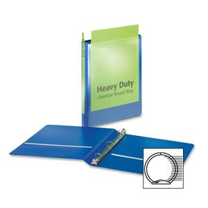 Cardinal HeavyDuty ClearVue Round Ring Binder CRD49005