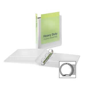Cardinal HeavyDuty ClearVue Round Ring Binder CRD49116