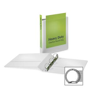 Cardinal HeavyDuty ClearVue Round Ring Binder CRD49113