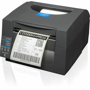Citizen CL-S521 Direct Thermal Barcode Printer 4 Inch Max 203 DPI Ethernet Interface Cutter