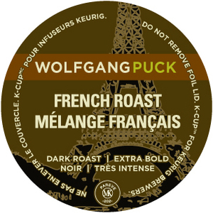 Wolfgang Puck French Roast Coffee K-Cup SPZ21102