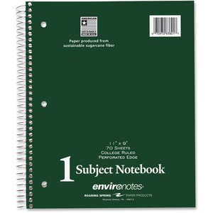 Roaring Spring 1-Subject Notebook ROA83801
