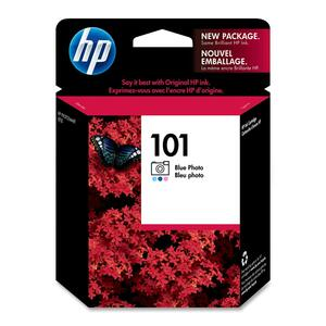 HP 101 Blue Photo Original Ink Cartridge HEWC9365AM