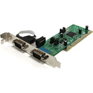 STARTECH 2PORT DB9 SER PCI RS422/485 161050 UART ADAPTER CARD