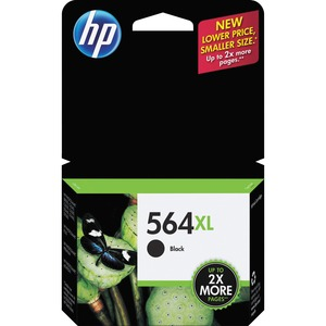HP 564XL High Yield Black Original Ink Cartridge HEWCN684WN