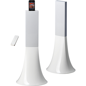 Parrot Zikmu Wireless Stereo Speakers by Philippe Starck - White