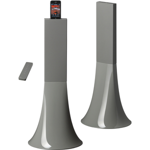 Parrot Zikmu Wireless Stereo Speakers by Philippe Starck - Grey