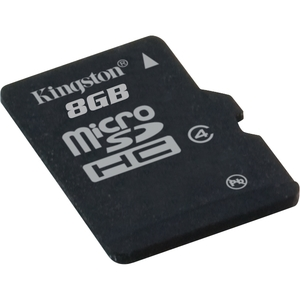 Kingston MBLY4G2/8GB 8 GB MicroSD High Capacity (microSDHC) - 1 Card - Class 4